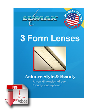 3form lenses icon white