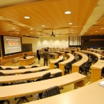 Recessed classroom lighting
